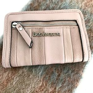 Enzo Angiolini Leather Powder Pink Wallet